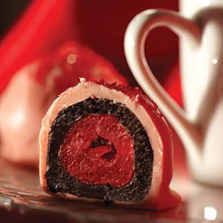 OREO-Cherry Cookie Balls.
