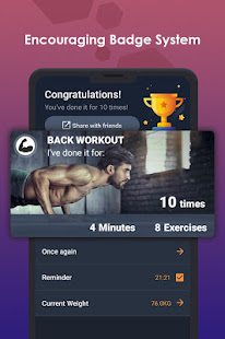 App ManFIT – Muscle building Exercise, Home Workout APK for Windows Phone