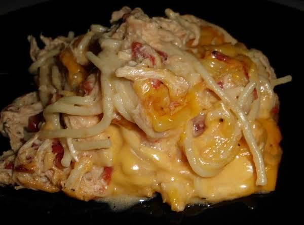 Cheddar Chicken Spaghetti Recipe