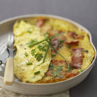 Pork and Egg Omelette Dish.