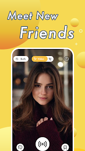 Vimo – Video Chat Strangers & Live Voice Talk 1