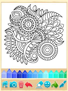 Mandala Coloring Pages- screenshot thumbnail