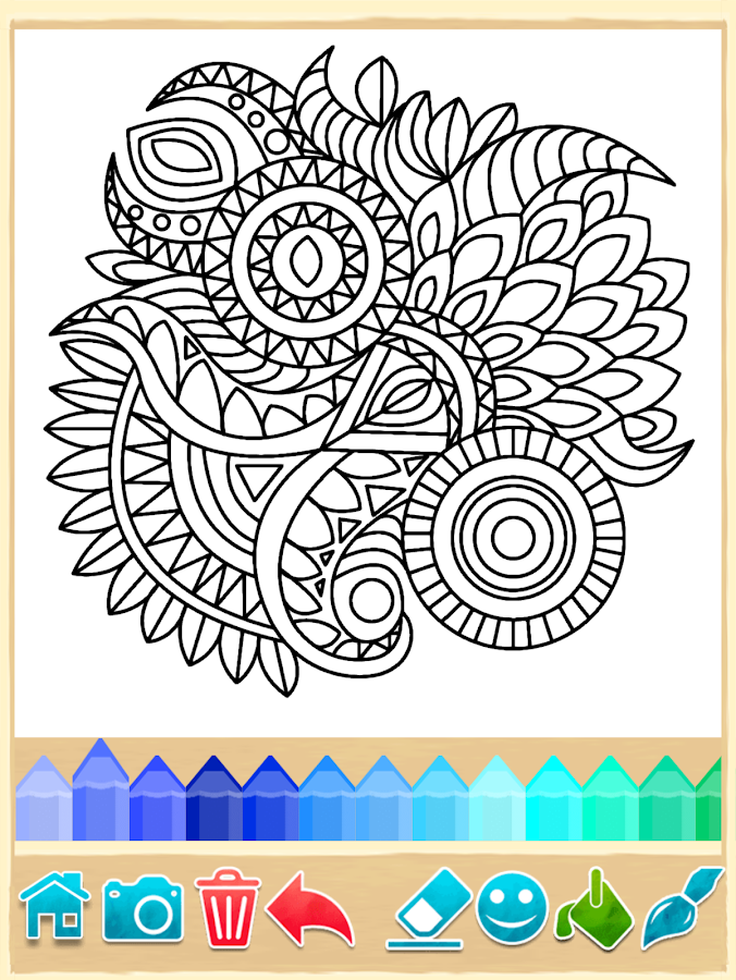 Mandala Coloring Pages 712 Android Game APK Free