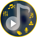 MP3 All in one icon