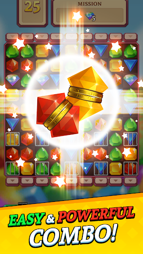 Jewels and Gems Blast: Fun Match 3 Puzzle Game android2mod screenshots 2