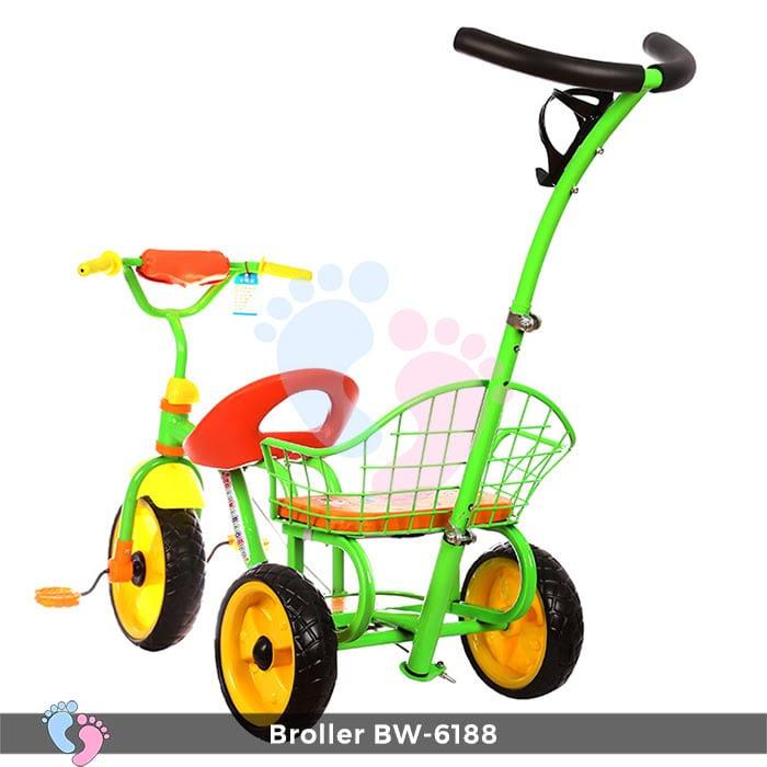 Xe đạp đẩy ba bánh Broller XD3-6188 10