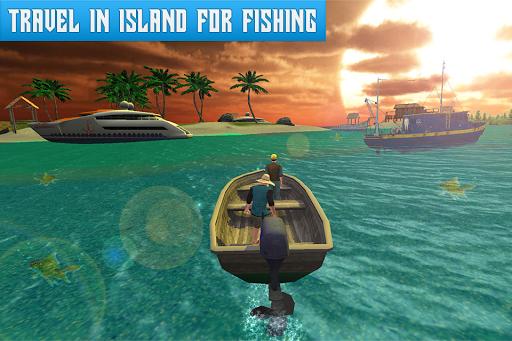 Boat Fishing Simulator: Salmon Wild Fish Hunting apkpoly screenshots 2
