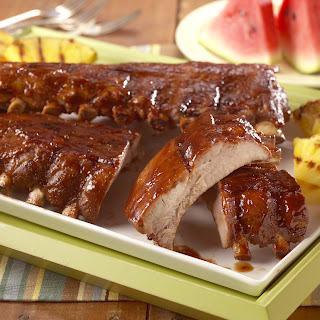 """Hoot-N Holler"" Baby Back Pork Ribs Recipe"