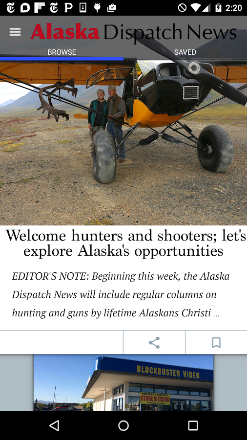 Alaska Dispatch News- screenshot