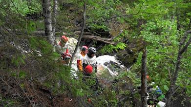 Photo: Очередь на второй водопад