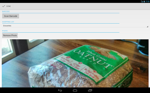 OurGroceries screenshot 9