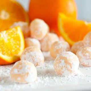 Orange Creamsicle Truffles.