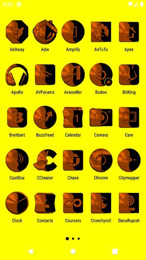 Wicked Orange Icon Pack u2728Freeu2728 screenshots 2