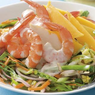 Shrimp and Mango Salad.