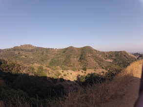 Photo: Trek to the Hollywood Sign. View of the valley