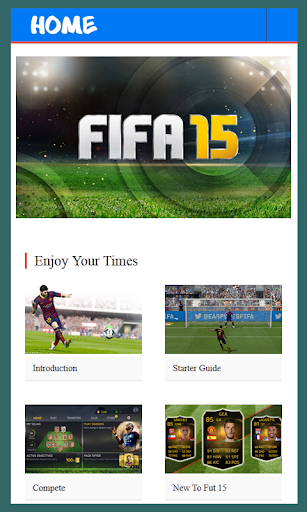 Guide For FIFA 15 Ultimate