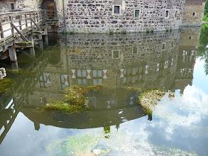 Photo: Burg Vischering im Spiegelbild