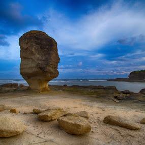 Umbrella Rock by Einto R - Landscapes Travel