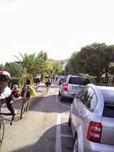 Photo: inizio della Salita su strada interna