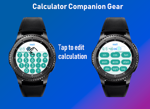 Screenshot for Smart Calculator Gear (for Samsung Gear devices) in United States Play Store