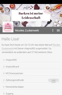 Nicoles Zuckerwerk - náhled