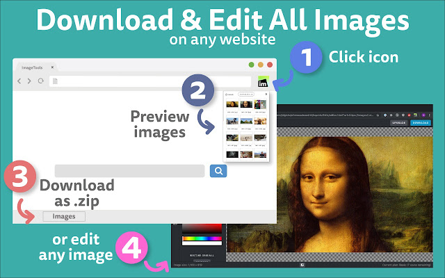 Download & Edit All Images