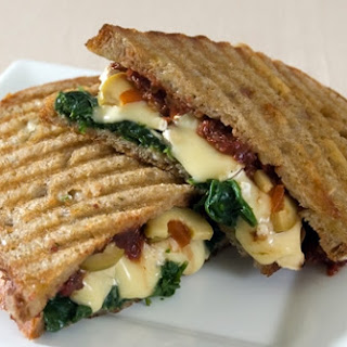 Grilled Brie Sandwich with Cherry Pepper Pesto (MTS 2010 Finalist).