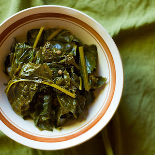 Pickled Mustard Greens, Chinese Style.