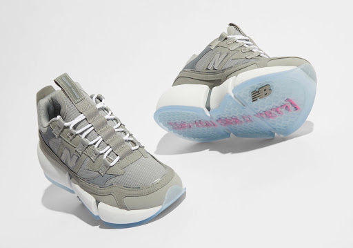 Jaden Smith Goes Back to the Basics with a Grey New Balance Vision Racer