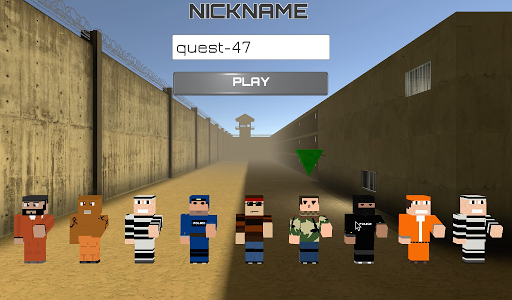 Blocks Jailbreak Robbers n Cops screenshot 1