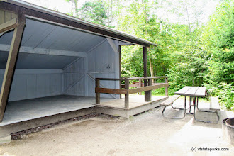 Photo: Accessible lean to at Stillwater State Park