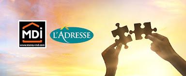Le réseau immobilier L'ADRESSE acquiert le réseau MDI !