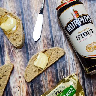 Fresh Irish Stout Bread.