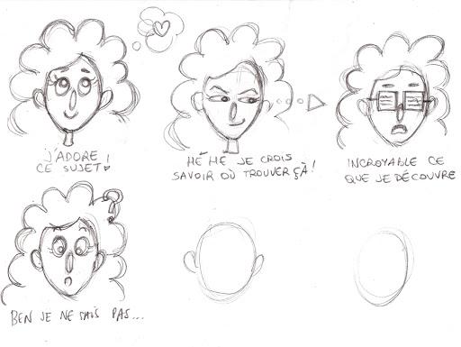 stage création de personnages
