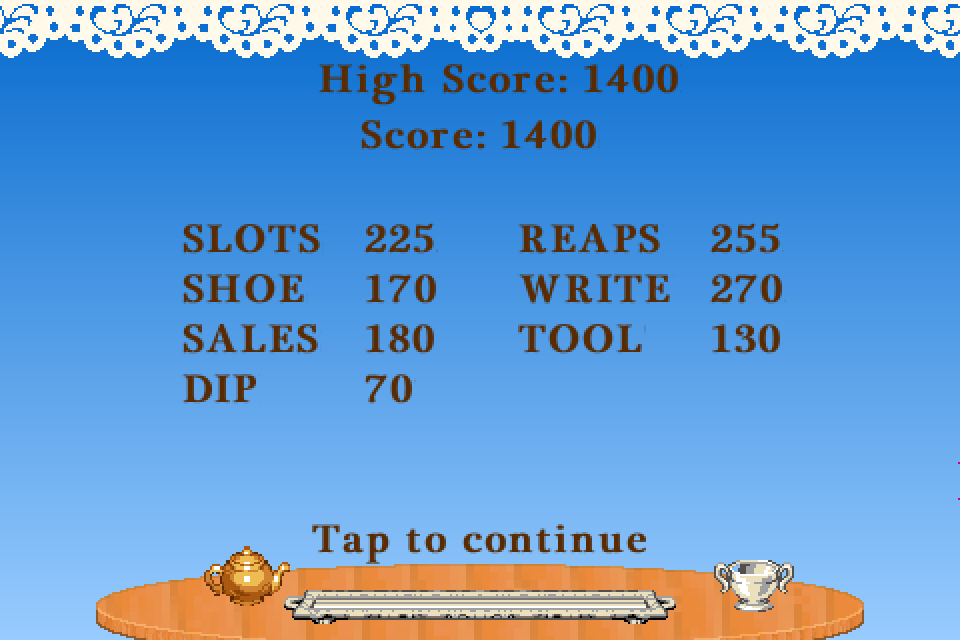 Tea Frenzy: A Word Game- screenshot