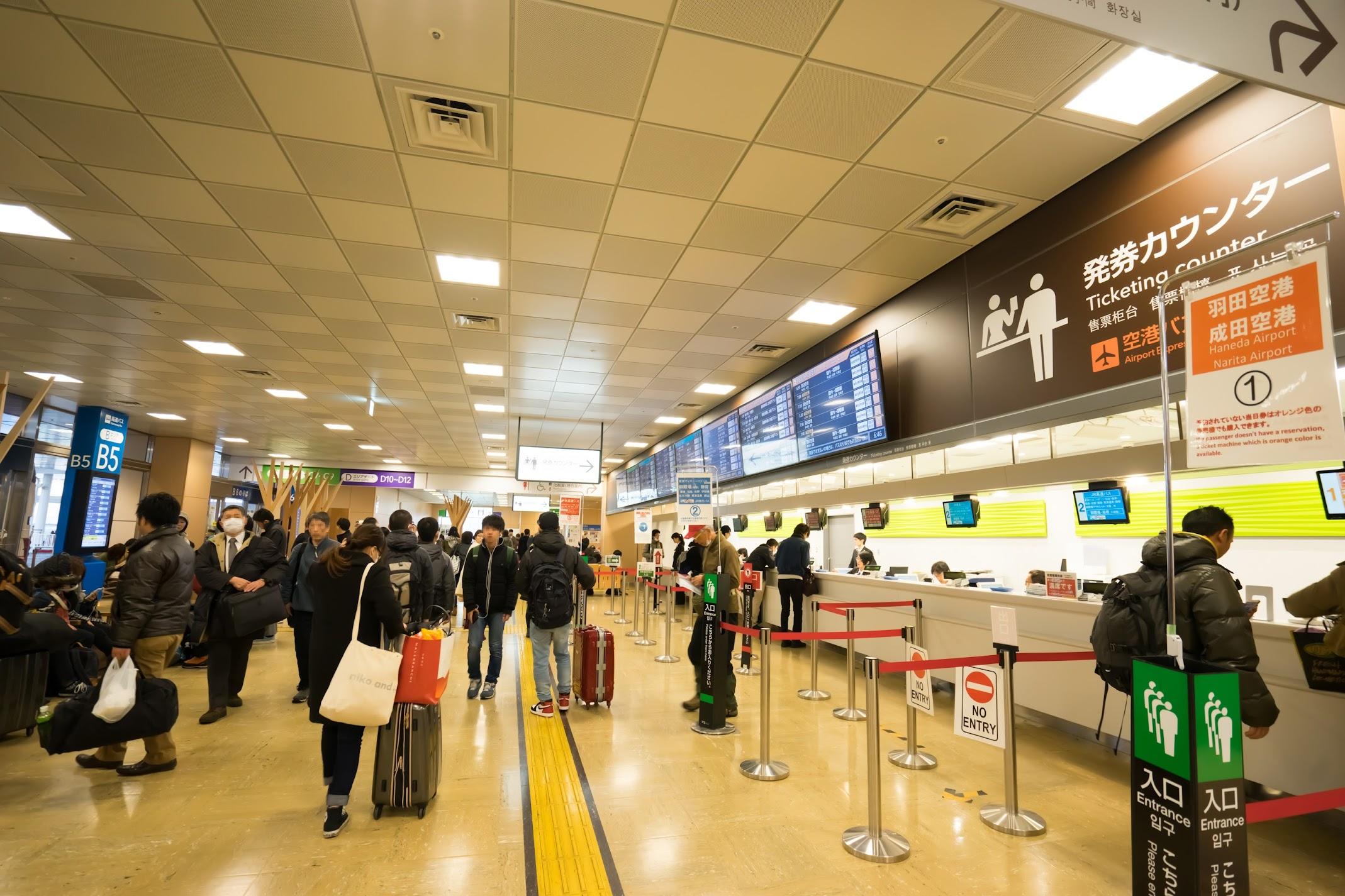 Shinjuku Expressway Bus Terminal3