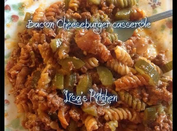 Bacon Cheeseburger Casserole Recipe
