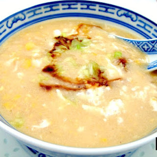 Chicken and Sweetcorn Egg Drop Soup Recipe