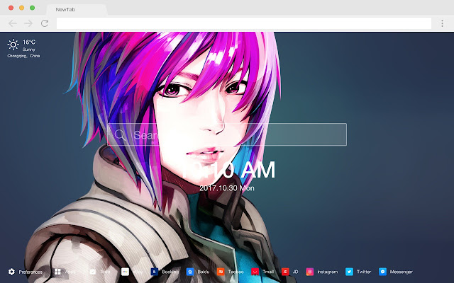 Ghost in the Shell New Tabs HD Wallpapers