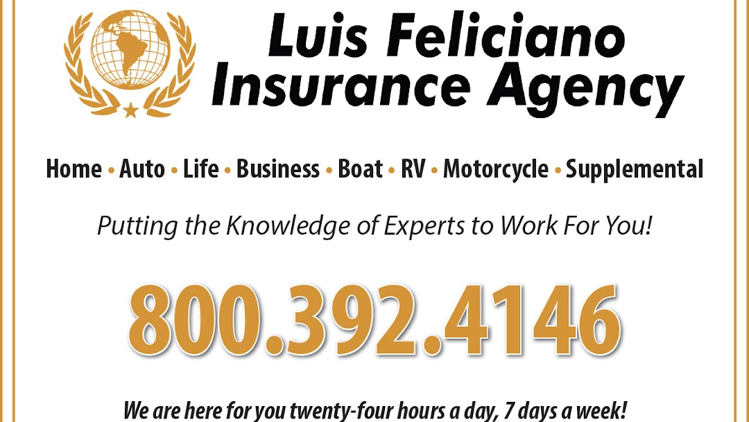 Luis Feliciano Insurance Agency Llc Insurance Agency In Kissimmee