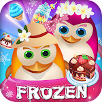 Penguin frozen match 3 Icon