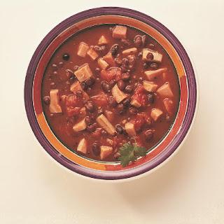 Spicy Ham & Black Bean Soup