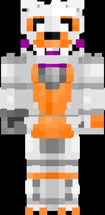 Minecraft Skin Wallpaper Girl Fnaf Rp Lolbit Nova Skin