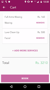 StayGlad Beauty Services @Home- screenshot thumbnail