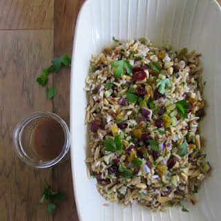 Orzo and Wild Rice Salad.