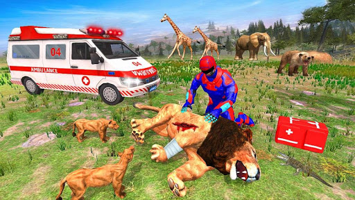 Light Superhero Speed Hero Robot Rescue Mission apkdebit screenshots 18