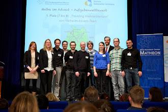 Photo: 25. Januar, Berlin, Deutschland, Preisverleihung digitaler Mathematik-Adventskalender des DFG-Forschungszentrums MATHEON UND DER DEUTSCHEN MATHEMATIKER- VEREINIGUNG DMV [Foto: KAY HERSCHELMANN Telefon:+49 (0)30-2927537 Mobil: +49 (0)171 26 73 495 email: Kay.Herschelmann@t-online.de, Berliner Sparkasse BAN: DE02 1005 0000 1554 5828 37 BIC-/SWIFT-Code: BE LA DE BE BLZ: 10050000 Konto-Nr.:1554582837 Alle Rechte vorbehalten. Abdruck nur gegen Honorar (zzgl. Mwst) und Belegexemplar. Urhebervermerk wird gemaess Paragraph 13 UrhG verlangt. Weitergabe an Dritte nur mit Genehmigung des Fotografen. NO MODEL RELEASE!]