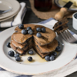Healthy Blueberry Buckwheat Pancakes Recipe