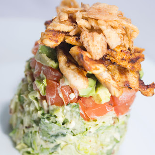 Stacked Cobb Salad.