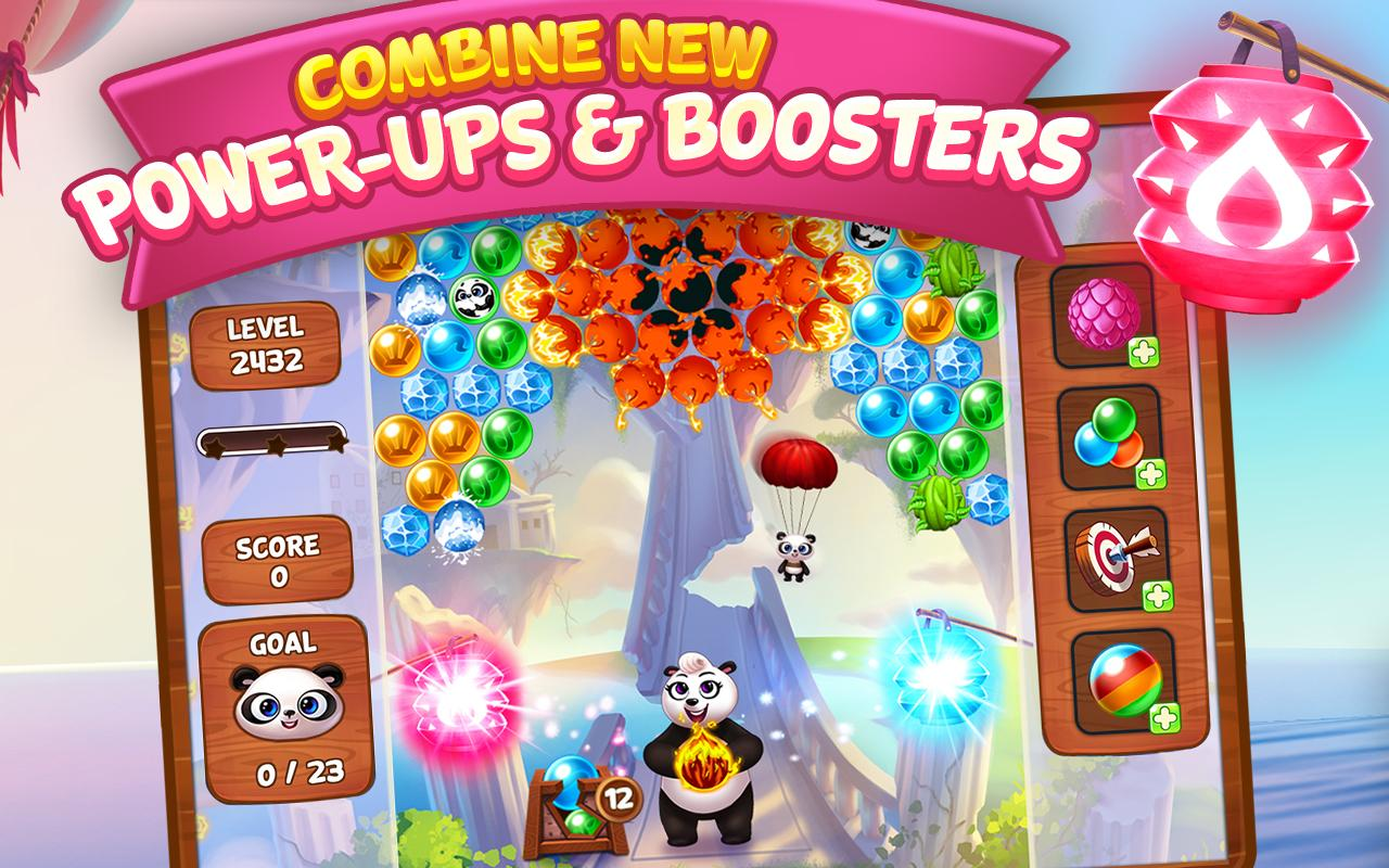 panda pop bubble shooter game blast shoot free android apps